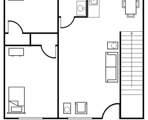 2-bedroom-1005-Wayne-Ave-Apts
